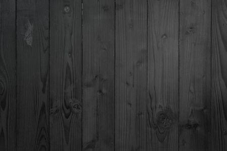 Grunge dark wood plank texture background. Vintage black wooden board wall antique cracking old design. Weathered table hardwood decoration. Black charcoal wood rough background surface decorative.