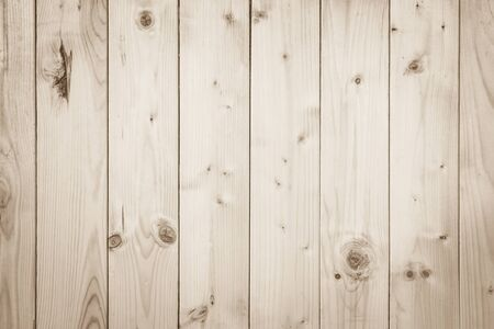 Old Wood plank brown texture for decoration background. Wooden wall all antique cracking furniture painted weathered white vintage peeling wallpaper. Plywood or woodwork teak hardwood nature.