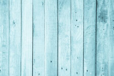 Old grunge wood plank texture background. Vintage blue wooden board wall have antique cracking style background objects for furniture design. Painted weathered peeling table woodworking hardwoods. Banque d'images