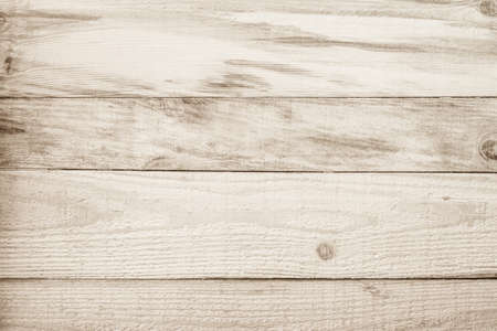 Brown Wood texture background. Wood planks old of table top view and board wooden nature pattern are grain hardwood panel floor. Design timber vintage wall textured material for banner copy space. Banque d'images