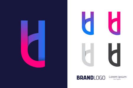 Letter L and letter D logo