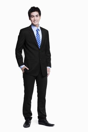 asian businessman: Young Asian businessman Stock Photo