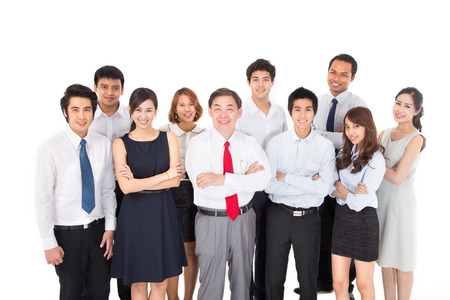 asian business people: Business Team Stock Photo