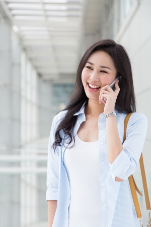 beauty woman: Young woman talking on the phone