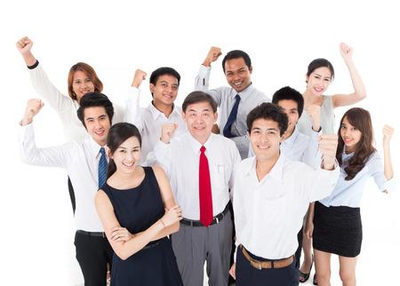asian business team: Business Team Stock Photo