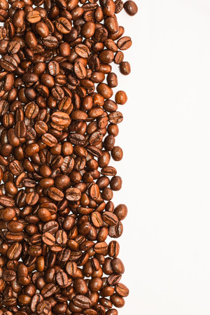 coffeebeans: Coffee beans background isolated white