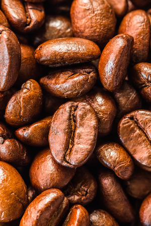 coffeebeans: Coffee beans closeup background macro