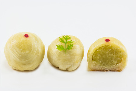 puffs: Pattern of Chinese Flaky Pastry or Chinese Puffs