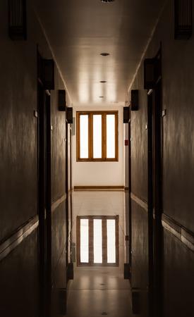 passage: Interior of apartment passage