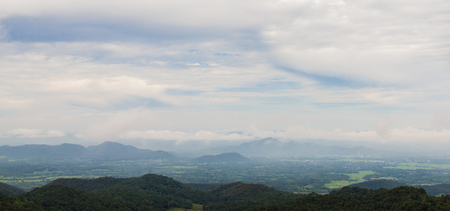 commodious: View of the Smoky Mountains in thailand Stock Photo