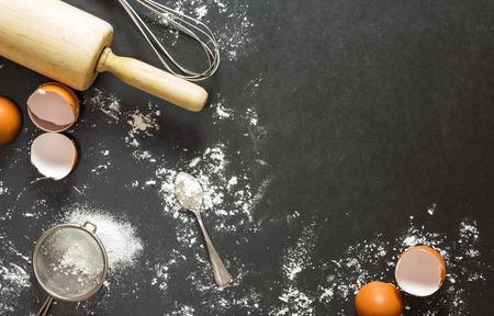 빵집 배경 : 베이킹 재료