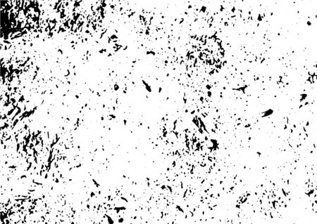 Grunge black and white texture vector. Place over any object create black grunge effect. Distress grunge texture vector easy to use illustration overlay. Black grunge vector surface background.Abstract grunge texture vector background. Vettoriali