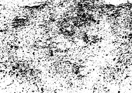 Grunge black and white texture vector. Place over any object create black grunge effect. Distress grunge texture vector easy to use illustration overlay. Black grunge vector surface background.Abstract grunge texture vector background.