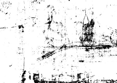 Black and white grunge. Distress overlay texture. Abstract surface dust and rough dirty wall background concept. Distress illustration simply place over object to create grunge effect. Archivio Fotografico - 129274472