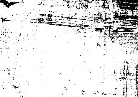 Black and white grunge. Distress overlay texture. Abstract surface dust and rough dirty wall background concept. Distress illustration simply place over object to create grunge effect. Archivio Fotografico - 129274453