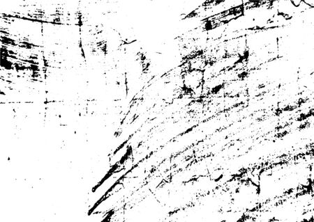 Black and white grunge. Distress overlay texture. Abstract surface dust and rough dirty wall background concept. Distress illustration simply place over object to create grunge effect. Archivio Fotografico - 129274457