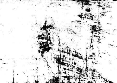 Black and white grunge. Distress overlay texture. Abstract surface dust and rough dirty wall background concept. Distress illustration simply place over object to create grunge effect Archivio Fotografico - 129274459