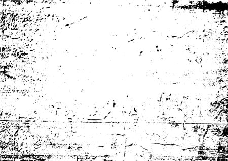Black and white grunge. Distress overlay texture. Abstract surface dust and rough dirty wall background concept. Distress illustration simply place over object to create grunge effect. Vector . Иллюстрация