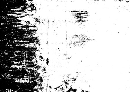Black and white grunge. Distress overlay texture. Abstract surface dust and rough dirty wall background concept. Distress illustration simply place over object to create grunge effect. Vector . Illusztráció