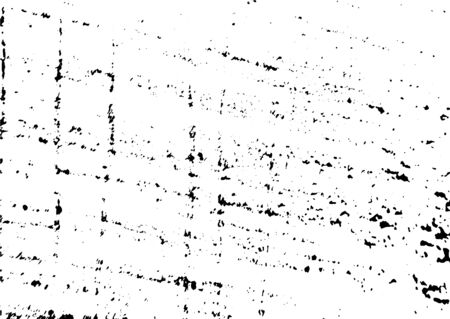 Black and white grunge. Distress overlay texture. Abstract surface dust and rough dirty wall background concept. Distress illustration simply place over object to create grunge effect. Vector . Stock fotó - 130065031