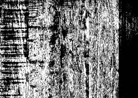 Black and white grunge. Distress overlay texture. Abstract surface dust and rough dirty wall background concept. Distress illustration simply place over object to create grunge effect. Vector Ilustracja