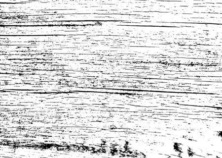 Grunge en blanco y negro. Textura de superposición de angustia. Polvo superficial abstracto y concepto de fondo de pared sucia áspera. La ilustración de socorro simplemente coloque sobre el objeto para crear un efecto grunge. Vector