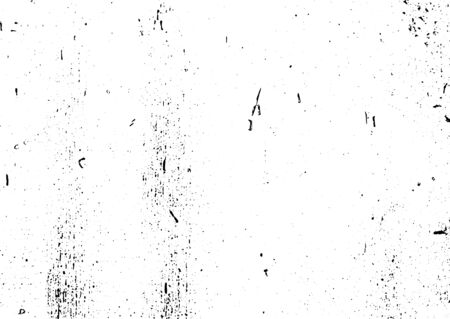 Black and white grunge. Distress overlay texture. Abstract surface dust and rough dirty wall background concept. Distress illustration simply place over object to create grunge effect. Vector Standard-Bild - 134461462