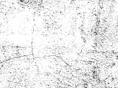 Black and white grunge. Distress overlay texture. Abstract surface dust and rough dirty wall background concept.  Distress illustration simply place over object to create grunge effect. Vector Illustration