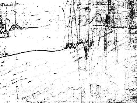 Black and white grunge. Distress overlay texture. Abstract surface dust and rough dirty wall background concept.  Distress illustration simply place over object to create grunge effect. Vector EPS10. Imagens - 152396092