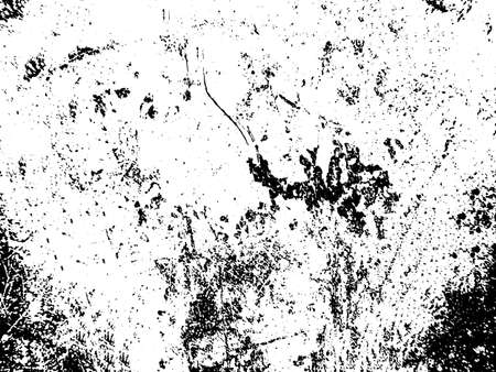 Black and white grunge. Distress overlay texture. Abstract surface dust and rough dirty wall background concept.  Distress illustration simply place over object to create grunge effect. Vector EPS10. Stock fotó - 155430062