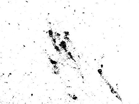 Black and white grunge. Distress overlay texture. Abstract surface dust and rough dirty wall background concept.  Distress illustration simply place over object to create grunge effect. Vector.