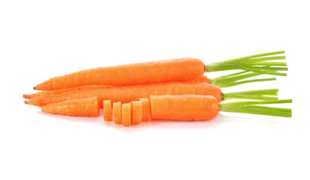 Carrot isolated on white background Standard-Bild - 160699456