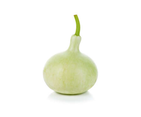 Calabash, Bottle Gourd on white background