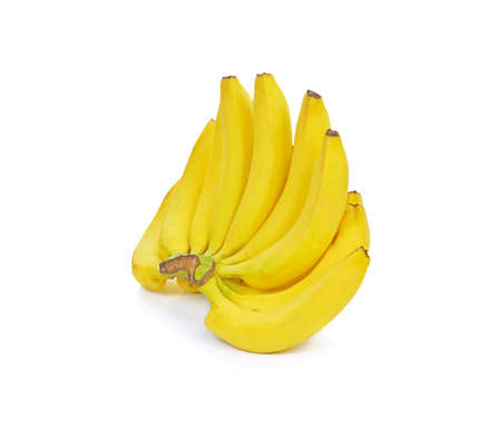 bananas on a white background.