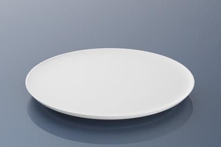 rendering: 3d rendering empty dish