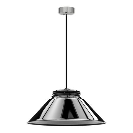 rendu 3d lampe pendentif isolé sur blanc