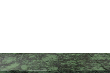 3d rendering granite countertop isolated on white