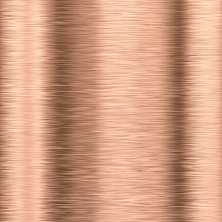 reflective: copper plate background Stock Photo