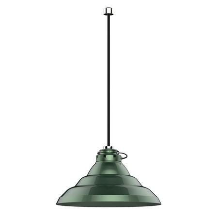 pendant: 3d rendering pendant lamp isolated on white