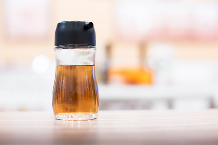 fish sauce: bottle of fish sauce on the table