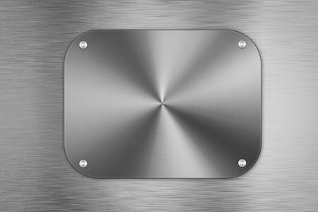shiny metal background: shiny metal plate background