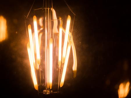 diode: led light or led diode on black background