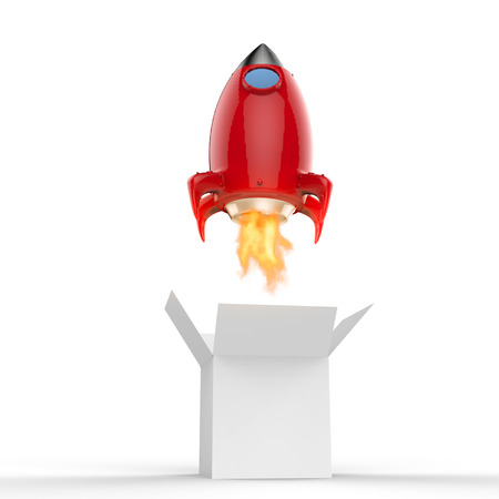 propulsion: space shuttle launch out of the box