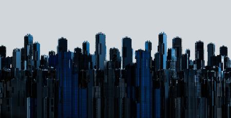 rendering: 3d rendering modern building