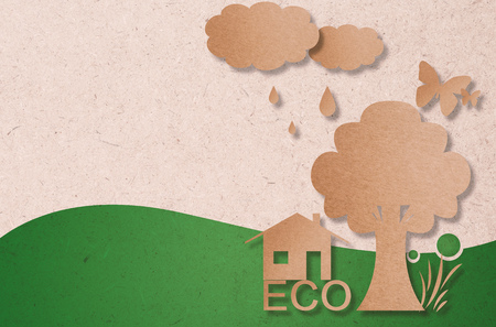 green eco: eco friendly or ecology concept