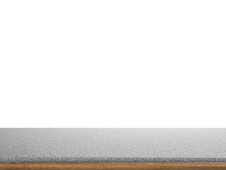 granite countertop: granite countertop on white background