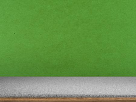 granite countertop: granite countertop on green background