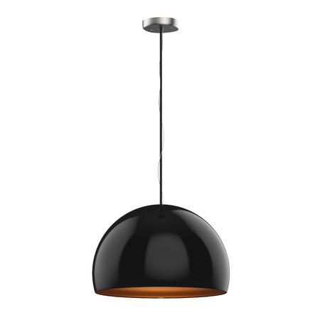 3D hängende hängende hängende Lampe lokalisiert auf Weiß