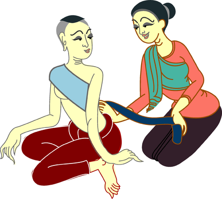 thai herb: Thai massage