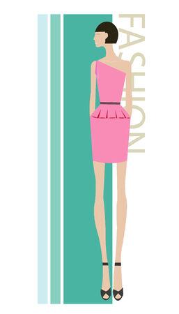 mannequin mode: Le mod�le de la mode